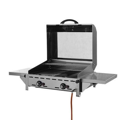 149515 roll top hood Greenfire 2 burners
